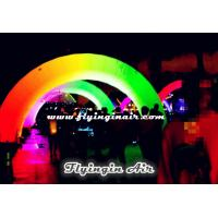 Inflatable Rainbow Arch, Inflatable Light Archway for Events Nights Manufactures