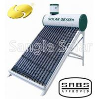 China Low Pressure Vacuum Tube Solar Water Heater on sale