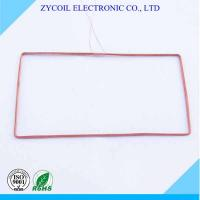 China Electronics Copper Rfid Reader Coil , Radio Frequency Coils For Key Card Tags on sale