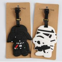 China New product ideas 2018 travel accessories plastic pvc luggage tag for business gift wholesale