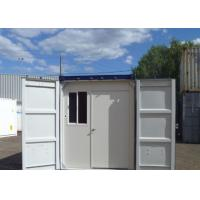 Buy cheap Prefeb Steel Structure Temporary Camp Convenient Modified Shipping Container Housing from wholesalers