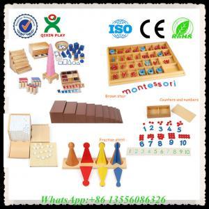 China Wooden Educational Toys Montessori Materials Montessori Toys for Sale wholesale
