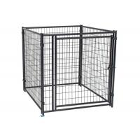 China Large Dog Cage Kennels High Strength Material Steel 2.3mm Wire Diameter on sale
