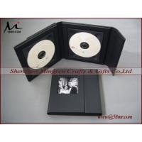 China Leather cd dvd box,leather cd dvd box on sale