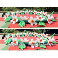 10m Wedding Flower Chain, Decorative Inflatable Flower String for Party Manufactures