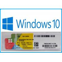 Buy cheap Windows10 Professional product key sticker ,Genuine key 100% online activation from wholesalers