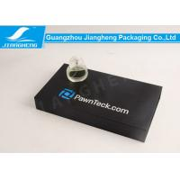 China Black Paper Perfume Sets Storage Box Paperboard Gift Boxes Offset Printing wholesale