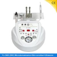 China Untrasonic Skin Scrubber Diamond Home Microdermabrasion Machine For Face Wrinkle Removal YL-C603 on sale