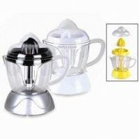 1L Electric Fruit Juicer Detachable 40W , Transparent Container For Home
