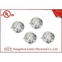 China Grey Aluminum Round Weatherproof Conduit Box 5 Holes 1/2 3/4 on sale