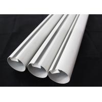 China Aluminum Round Tube Kitchen Ceiling Tiles Suspended Metal , 75mm Dia wholesale