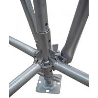 Hot Dip Galvanized Dynamic Vertical Ring Lock Scaffold Standard For High Building