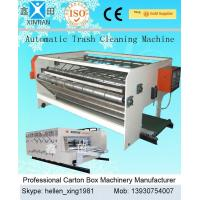 China Automatic Carton Packing Machine / Cardbaord Trash Cleaning Machine 2100mm wholesale