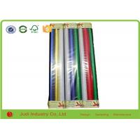 China Fashionable Christmas Gift Wrapping Paper 4cm Diameter 70cm X 300cm Gravure Printing on sale