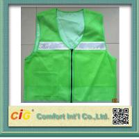 High Visibility Protective Clothing Reflective Safety Jackets , Custom Safety Vests Manufactures