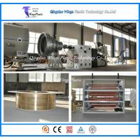 China China HDPE Jacket Insulation Pipe Poduction Line / Extrusion Machine on sale