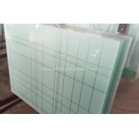 Quality 6.38mm - 40.3mm CE and ISO9001 Curtain Wall Tempered Laminated Glass For Home for sale