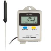 CE / ISO Approved Temperature Humidity Data Logger External Pin Type PT100 Sensor