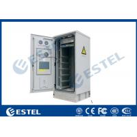 China IP55 32U Outdoor Telecom Cabinet Double Wall With Heat Insulation 19 Inch Equipment Cabinet wholesale