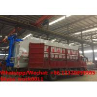 Buy cheap CLW brand 8m3-40m3 bulk feed tank container mounted on cargo truck for sale, HOT SALE cargo truck with feed tank from wholesalers