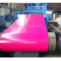 China RAL Color Zinc Coated Pre Painted Steel Sheet In Coils 700mm - 1250mm Width on sale