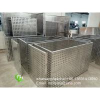 China air conditioner cover aluminum perforated ac cover frame  for air conditioner on sale