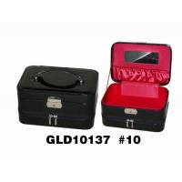 Unique Display PU Leather Jewelry Box Lockable With Double Floor Structure Manufactures
