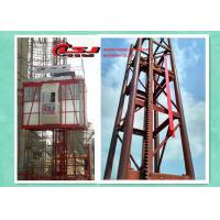 China 34m speed twin cage 2000kg capacity construction site lift wholesale