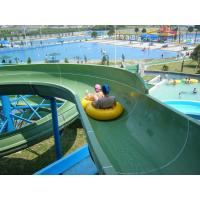 Water Park Family Raft Slide Fiber Glass Outdoor Water Slides For Adults Manufactures