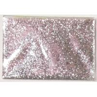 China PET silver color hexagon glitter pigment for cosmetic products and christmas gift on sale