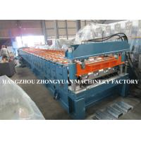 China 440V Decking Roll Forming Machine Sheet Metal Machine 82mm dia.solid steel wholesale