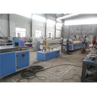 China Wood Plastic Composite Machinery / WPC PVC Wood Profile Extrusion Line on sale