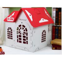 China Summer Pet 022 Removable Deluxe Bungalow Villa, Teddy Dog Breathable Dog House Wholesale Color: Pink, White Red, Rice on sale