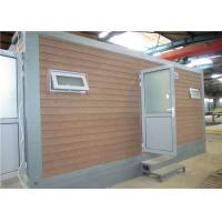 Assembly Modern Good insulated  prefabricated site office Waterproof Manufactures