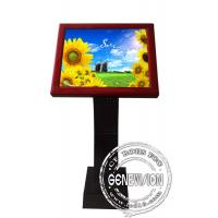 Buy cheap Full HD Sensor Touch Screen Kiosk Digital Signage , 19 Inch LCD Advertising Players from wholesalers