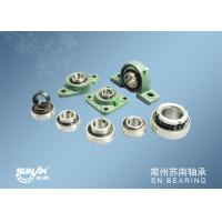 Industrial And Agricultural Mounted Bearing Units Low Noise / Pillar Block Bearings / Types of Ball Bearings
