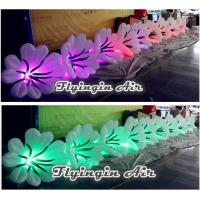 China Led Inflatable Flower Chain, Inflatable Wedding Flower String for Decoration wholesale