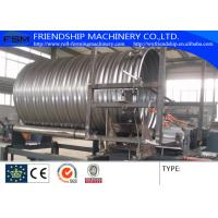 Auto Spiral Culvert Pipe Making Machine with 9 Forming Stations used in water conservancy project