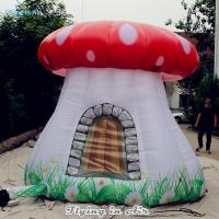 3m Height Inflatable Mushroom House with Blower for Kids and Adults Manufactures