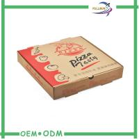 Custom Mini Corrugated Paper Boxes For Carton / Pizza Packing Manufactures