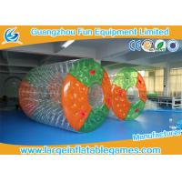 China Water Bottle inflatable roller ball Colorful Or Transparent Dots on sale
