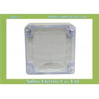 China 120*120*90mm electrical clear plastic housing on sale
