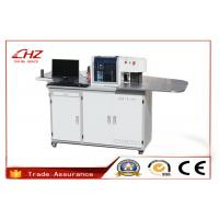 High Precision Stainless Steel Channel Letter Bender Machine With 4 Controlled Axis Manufactures