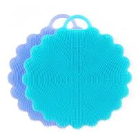 China Silicone Dish Sponges Scratch Free Silicone Scrubber Multi-purpose Cleaning Sponges on sale
