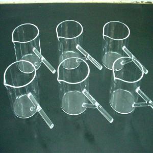 Quartz Boiling Flasks /Flat Bottom Manufactures