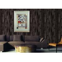 Retro Wood 3D Home Wallpaper Household 0.53*10m / roll , Non - pasted Manufactures