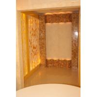 Buy cheap Artificial Onyx Stone Wall , Modern Hotel Artificial Jade Wall from wholesalers