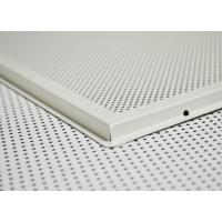 China Anti - corrosion Metal Aluminum Lay In Ceiling Tiles , decorative drop ceiling tiles 2x2 on sale