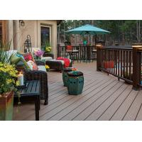 China Anti-Mould PVC Composite Wood Decking Flooring Cafe PVC Decking Flooring wholesale