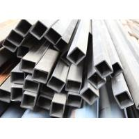 A333 Grade6 Low Temperature Impact Test Seamless Steel Tubes , Rectangular Steel Tube